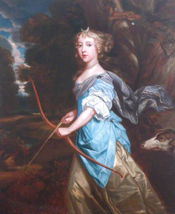 Mary II (1662–1694), when Princess Mary of York, as Diana
