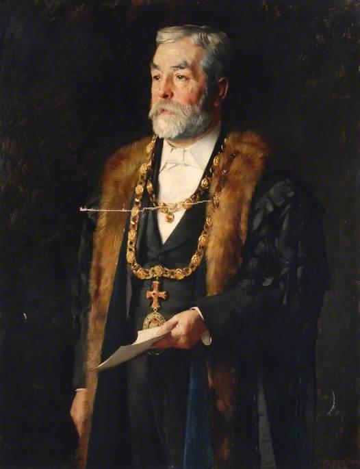 Alderman J. K. Wilkes, Mayor (1885–1886)