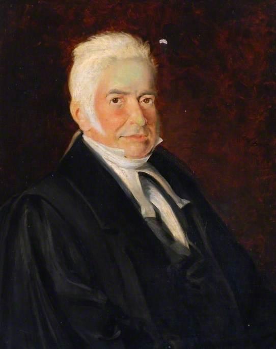 Reverend W. Clementson, Headmaster of Darlington Grammar School (1807–1836)