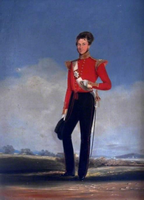 H. E. I. Coy's 2nd Bombay European Light Infantry Officer