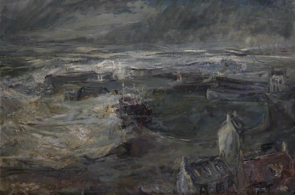 St Abbs, Berwickshire, Storm
