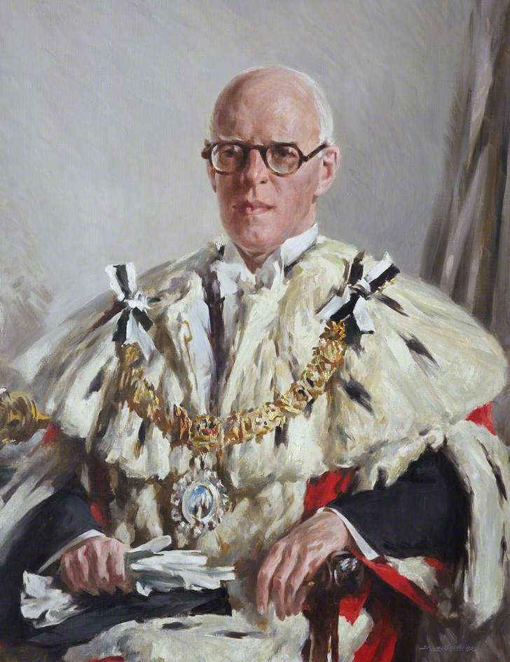 Sir John Garnett Banks, CBE, LLD, Lord Provost of Edinburgh (1954–1957)