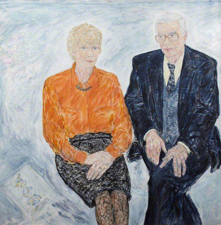 Professor Sir Kenneth Murray and Lady Noreen Murray (b.1935)