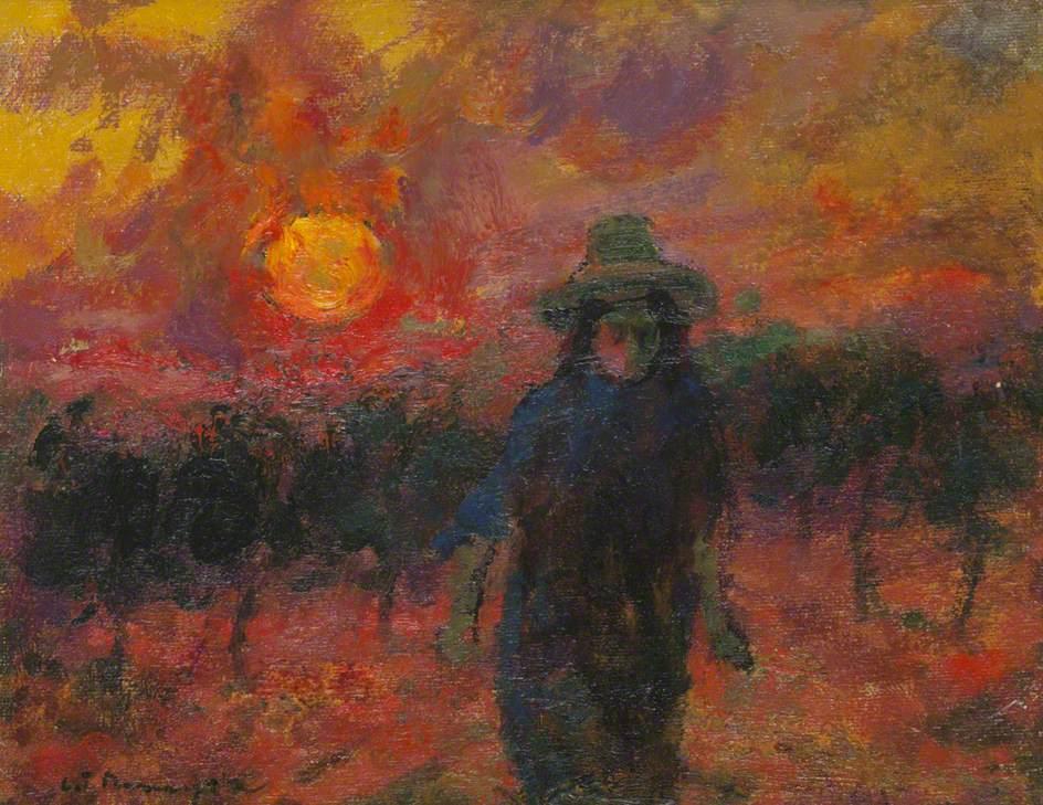 Figure at Twilight