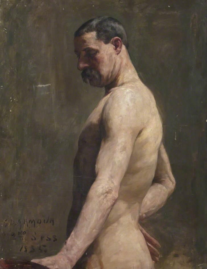 Upper Half of Male Nude