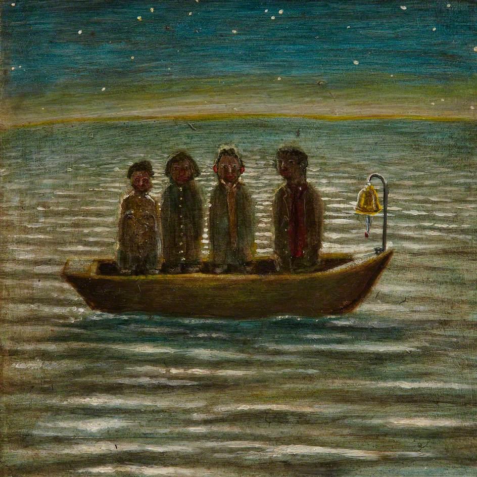 Men in Boat