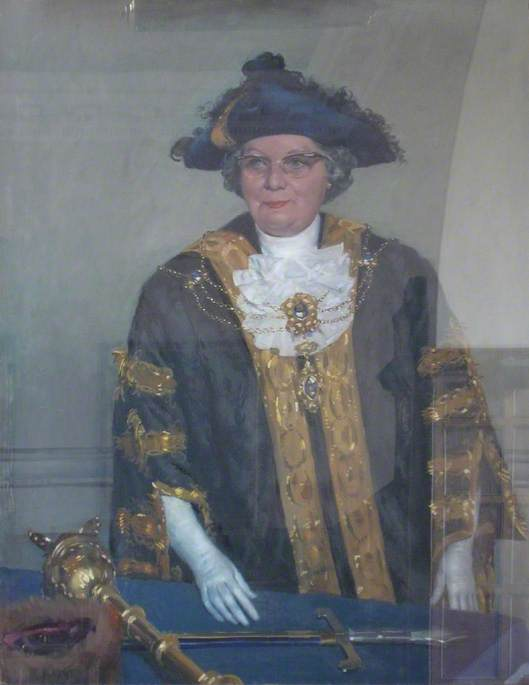 Alderman Miss Annie Major, MBE, JP