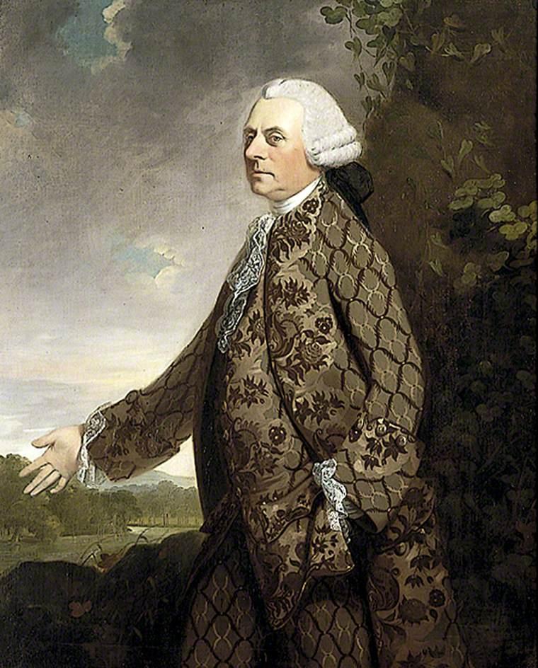 Sir Whistler Webster (after 1699–1779), 2nd Bt
