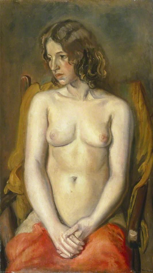 Young Girl: Nude Study