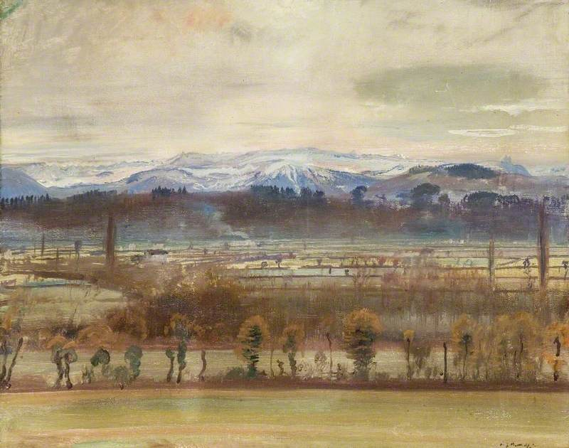 The Pyrenees and the Plain of Tarbes