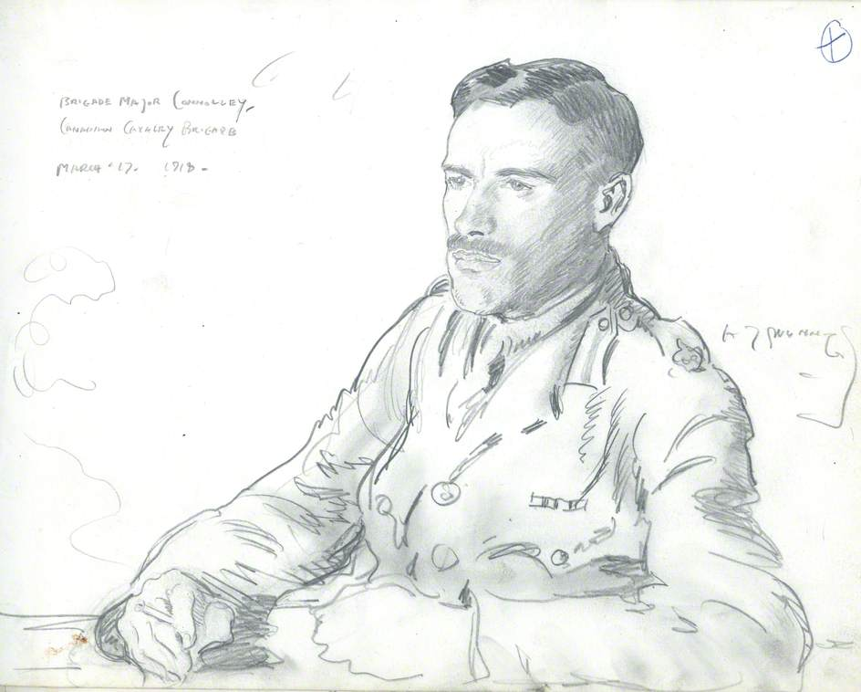 Brigade Major Connolley, Canadian Cavalry Brigade