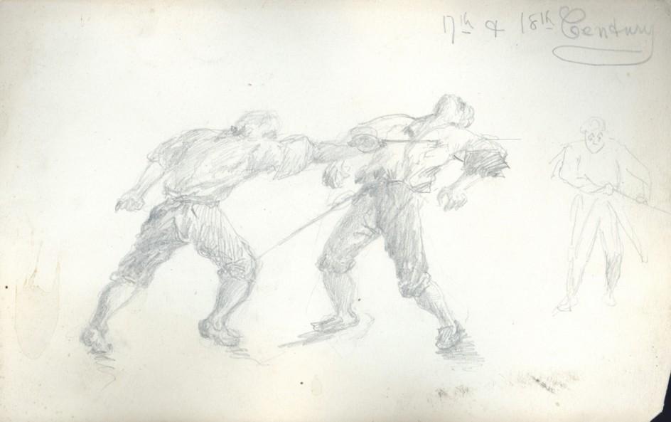 Two Men Dueling
