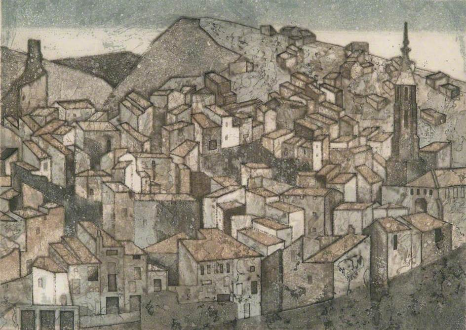 Monterde: View of Spanish Village