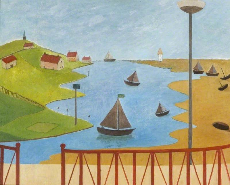 Estuary Threatened by a Marina