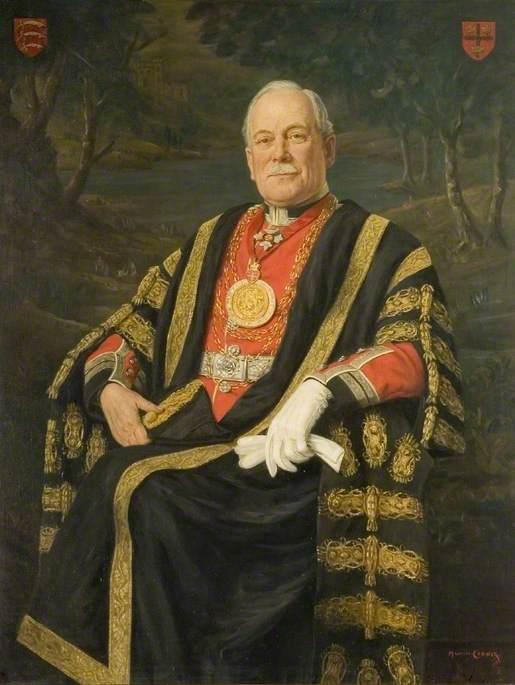 Alderman Percy A. Sanders, CBE, DG, JP (Mayor of Colchester 1922 & 1939–1942)
