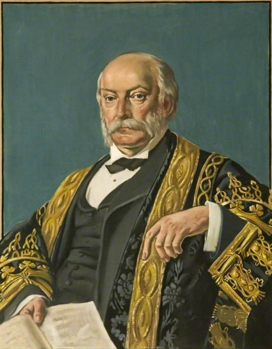 Lord Rayleigh of Terling, President of the Royal Society (1842–1919)