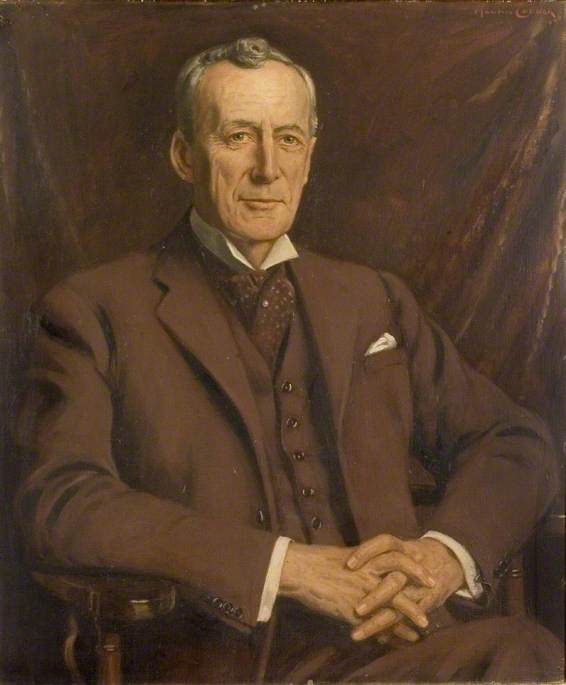 Colonel Sir Gilbertson Smith, TD, DL