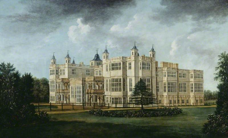 Audley End from the South West