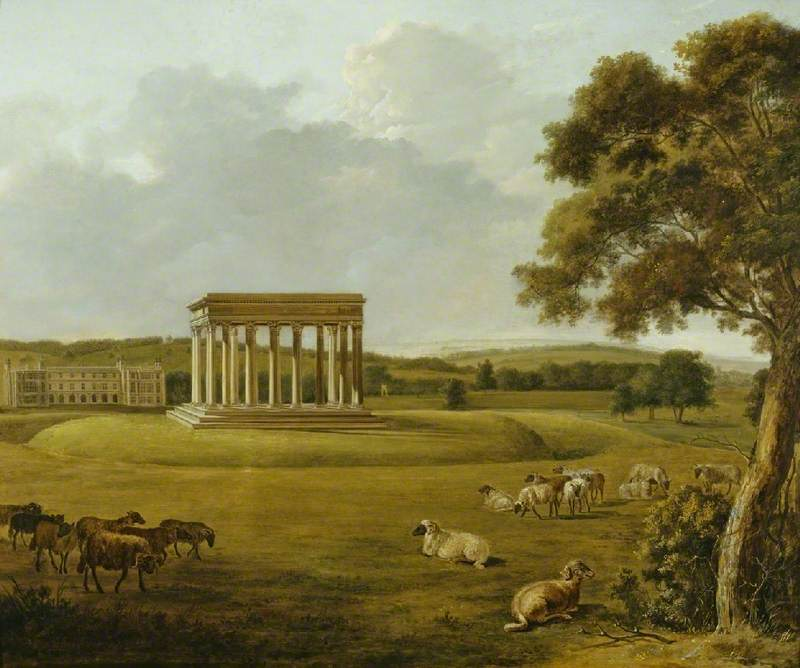 Audley End and the Temple of Concord