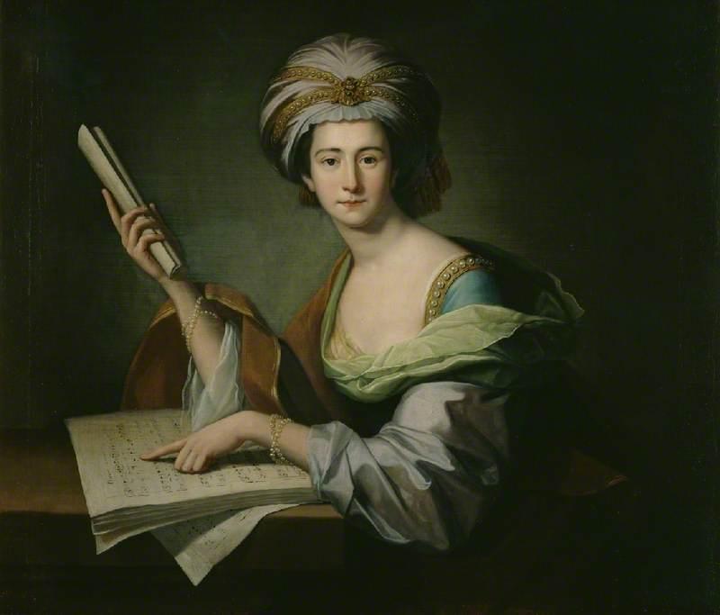 Anna Maria Shutz, Lady Griffin