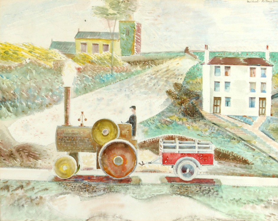 Traction Engine and Trailer