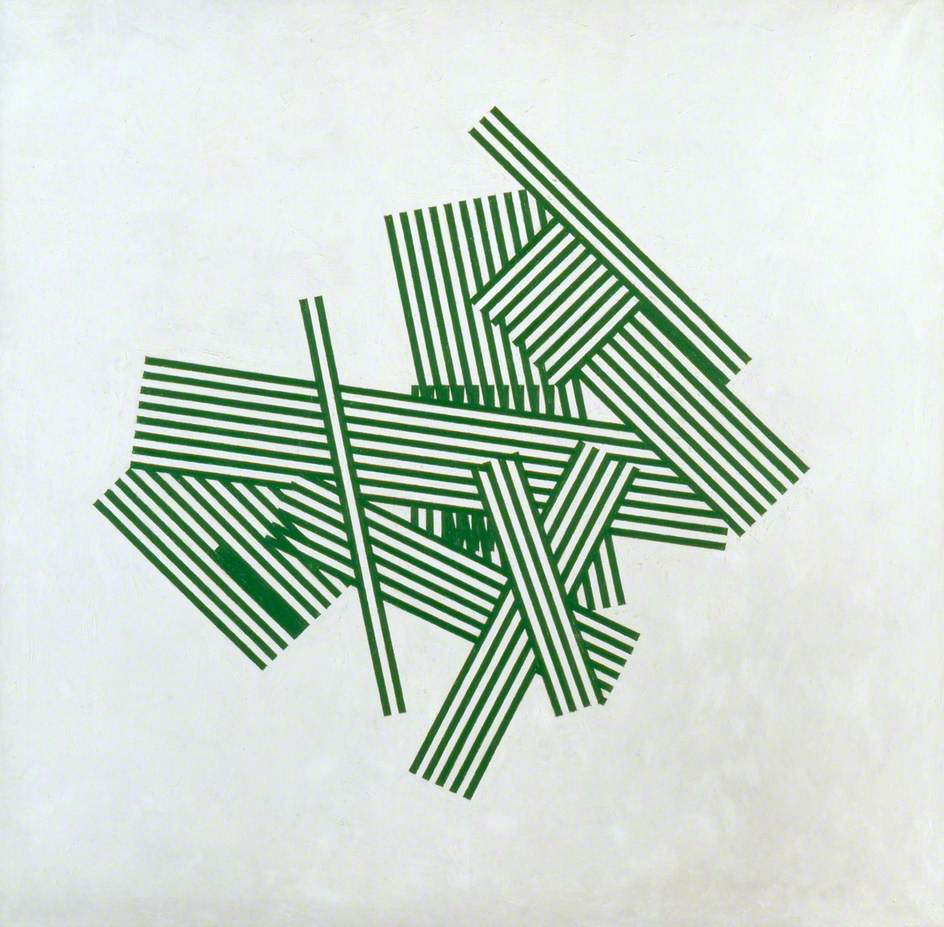 Chance and Order 4 (Green)