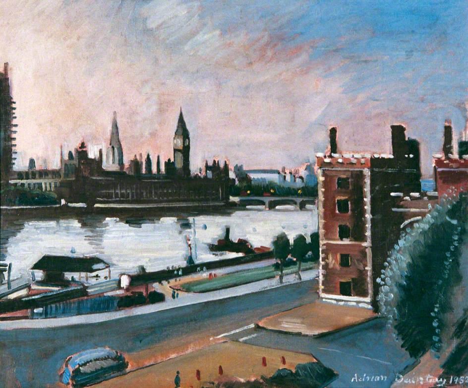 The Thames at Lambeth