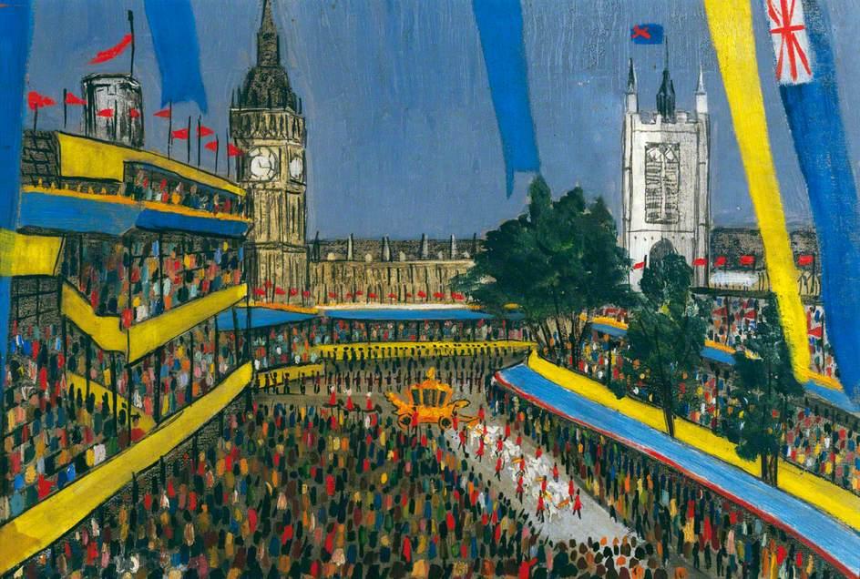 Parliament Square, Coronation