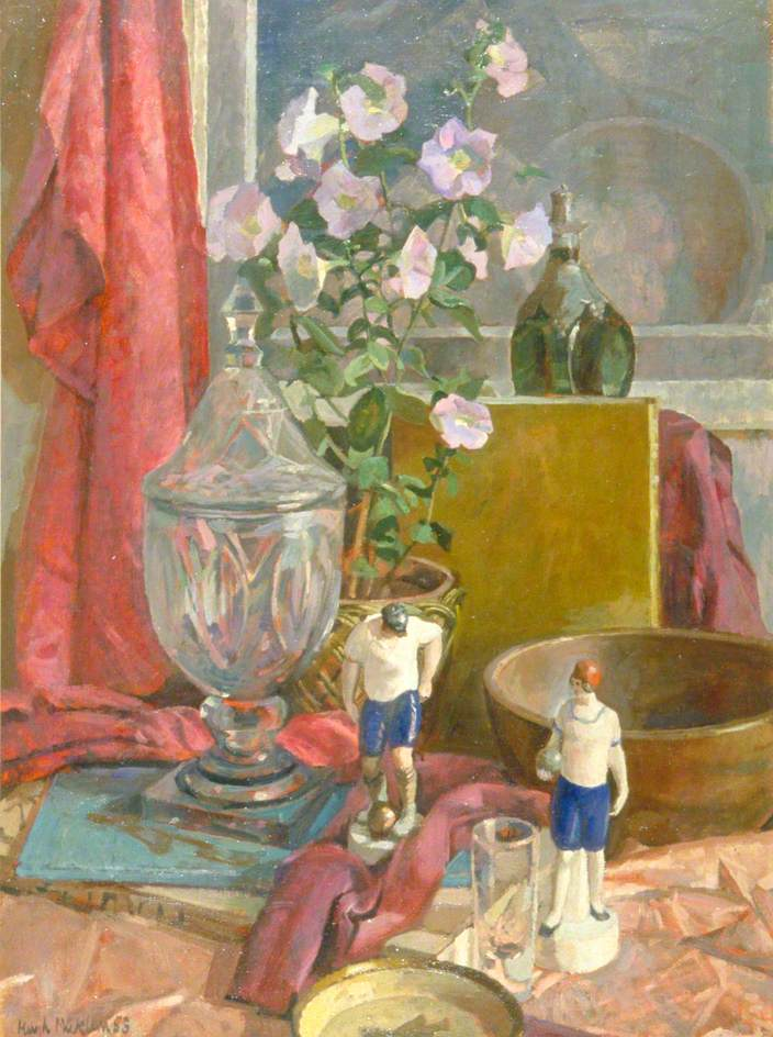 The Old Glass Vase