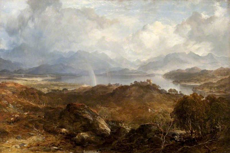 My heart's in the Highlands - Horatio McCulloch