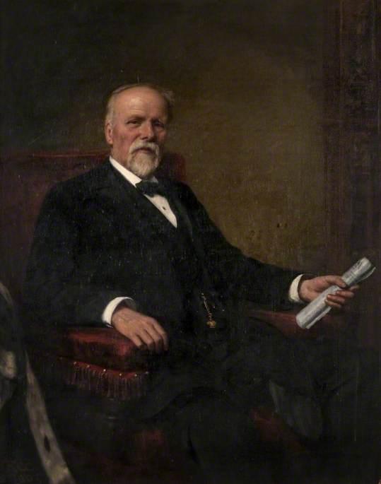 Former Bailie Walter Paton (1838–1906)