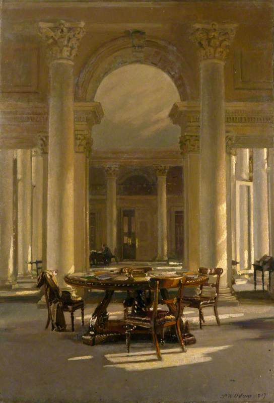 Interior: The Signet Library, Edinburgh