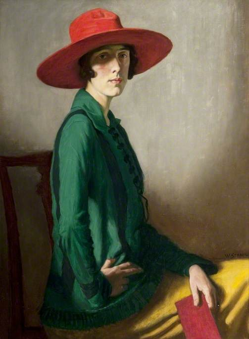 Lady with a Red Hat