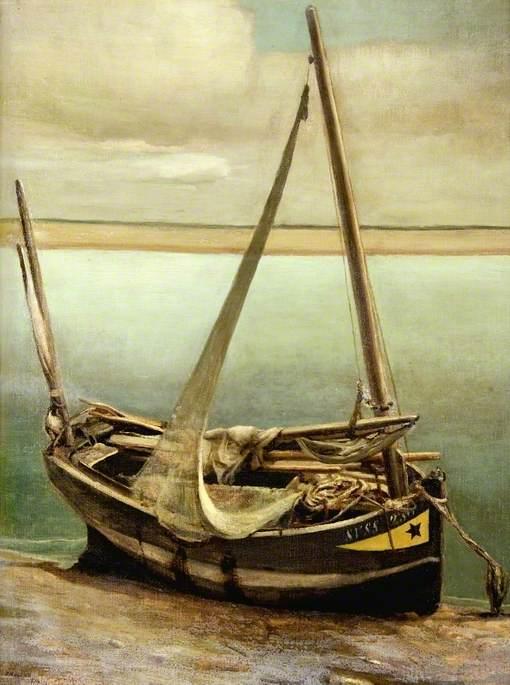 Le bateau à la moustache jaune
