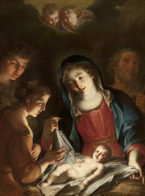 Virgin Adoring the Infant Christ