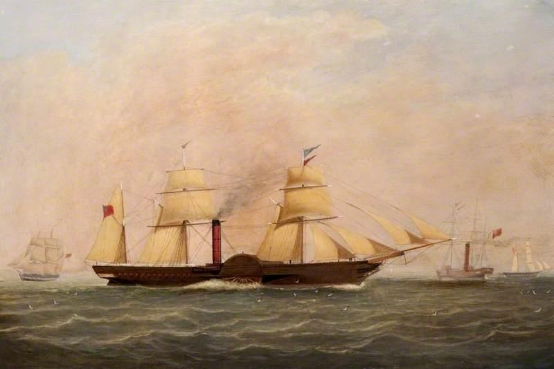 'Britannia': First of the Cunard Line