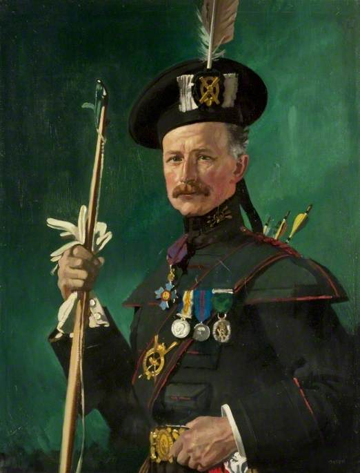 Sir Hugh Reid (1860–1935), in the Uniform of the Scottish Archers
