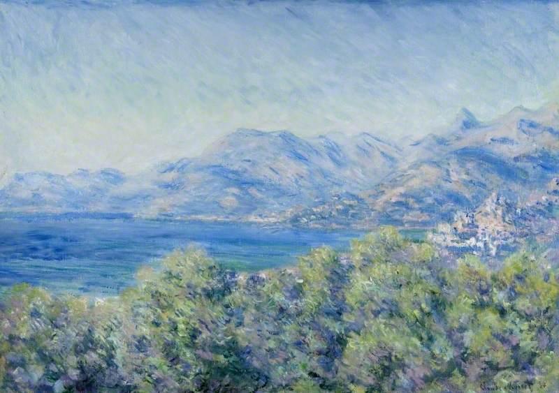 View of Ventimiglia