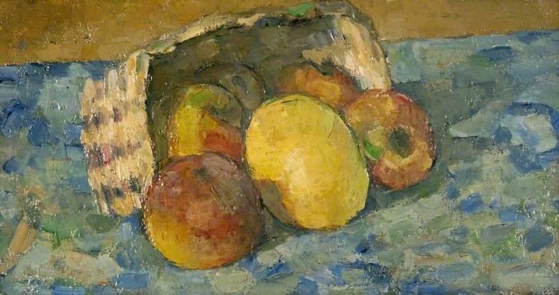 Overturned Basket of Fruit