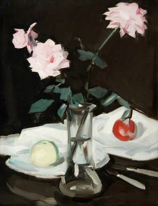 Still Life, Pink Roses