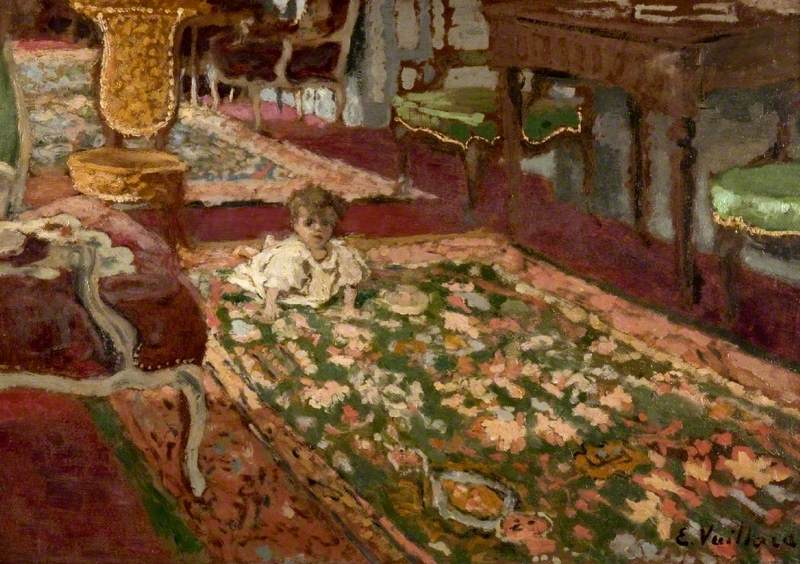 Interior: The Drawing Room