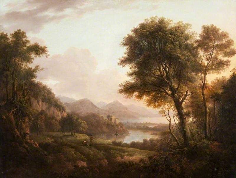 Landscape, Loch Katrine