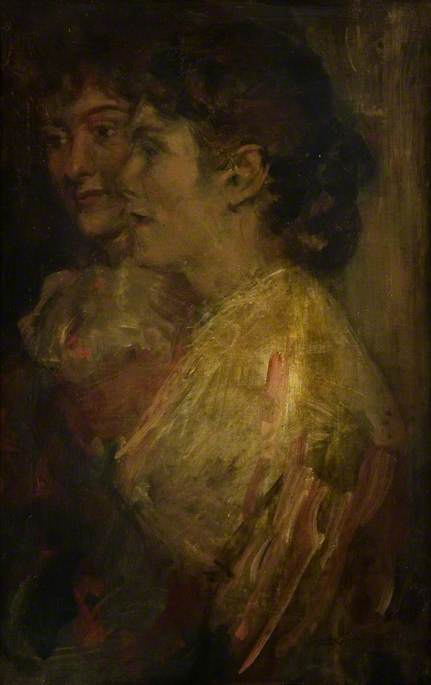 Study of Two Female Heads