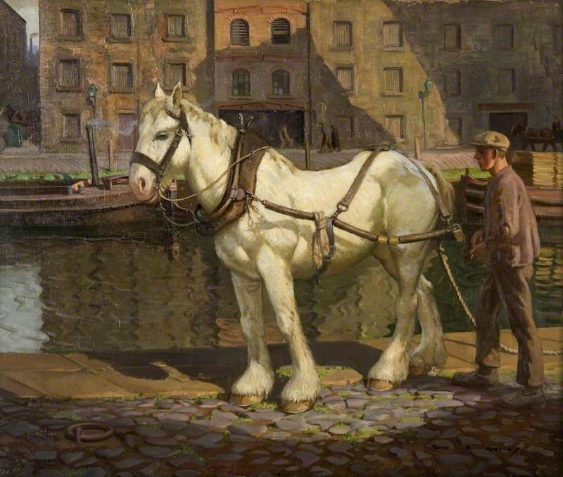 The Old Tow Horse