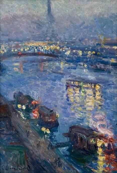 The Seine at Paris, Pont de Grenelle