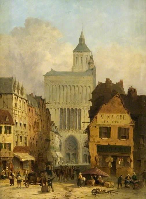 Church of Notre-Dame, Dijon