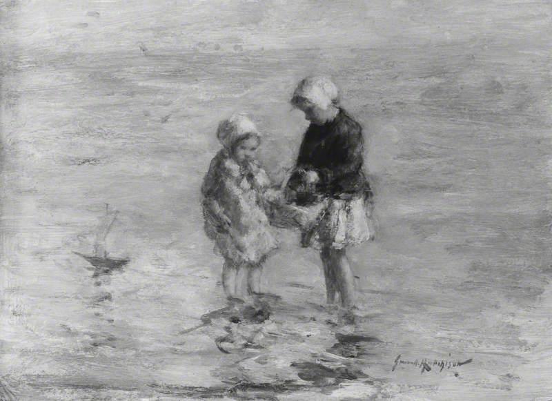 Children Wading