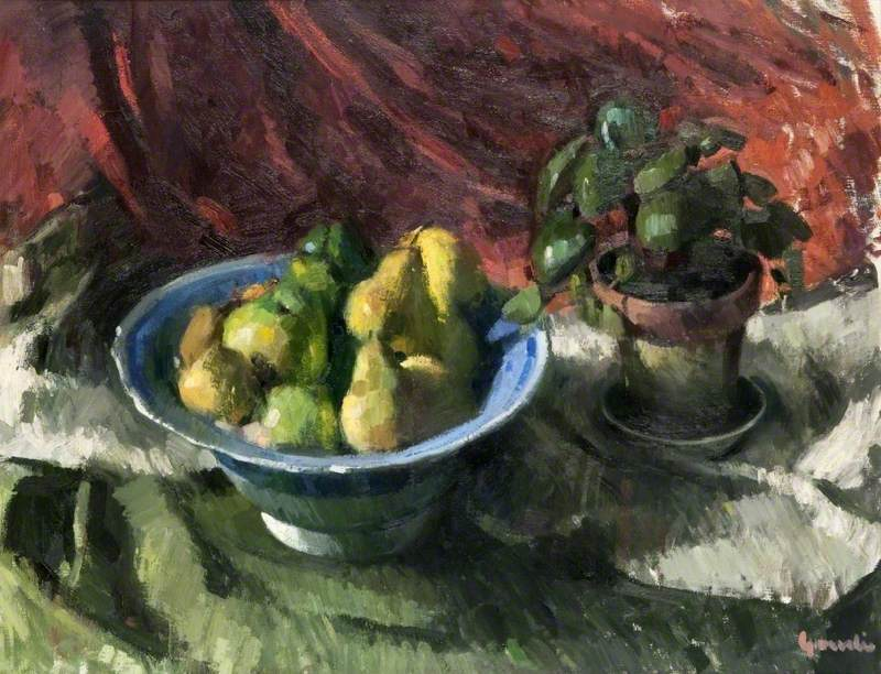 Still Life with a Bowl of Fruit