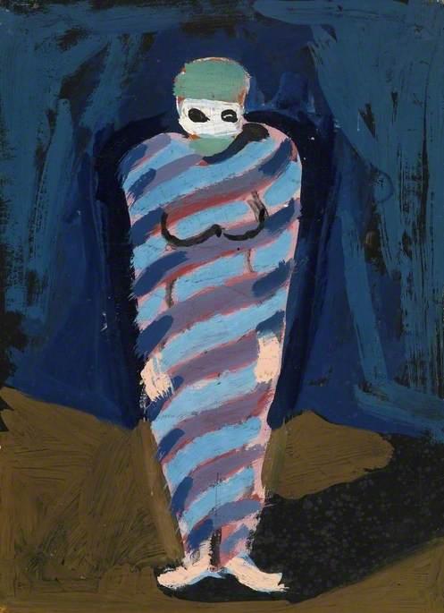 Blue-Costume for 'Ballet of the Palette'