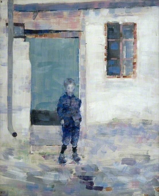 Study of a Boy, Caudebec, Normandy